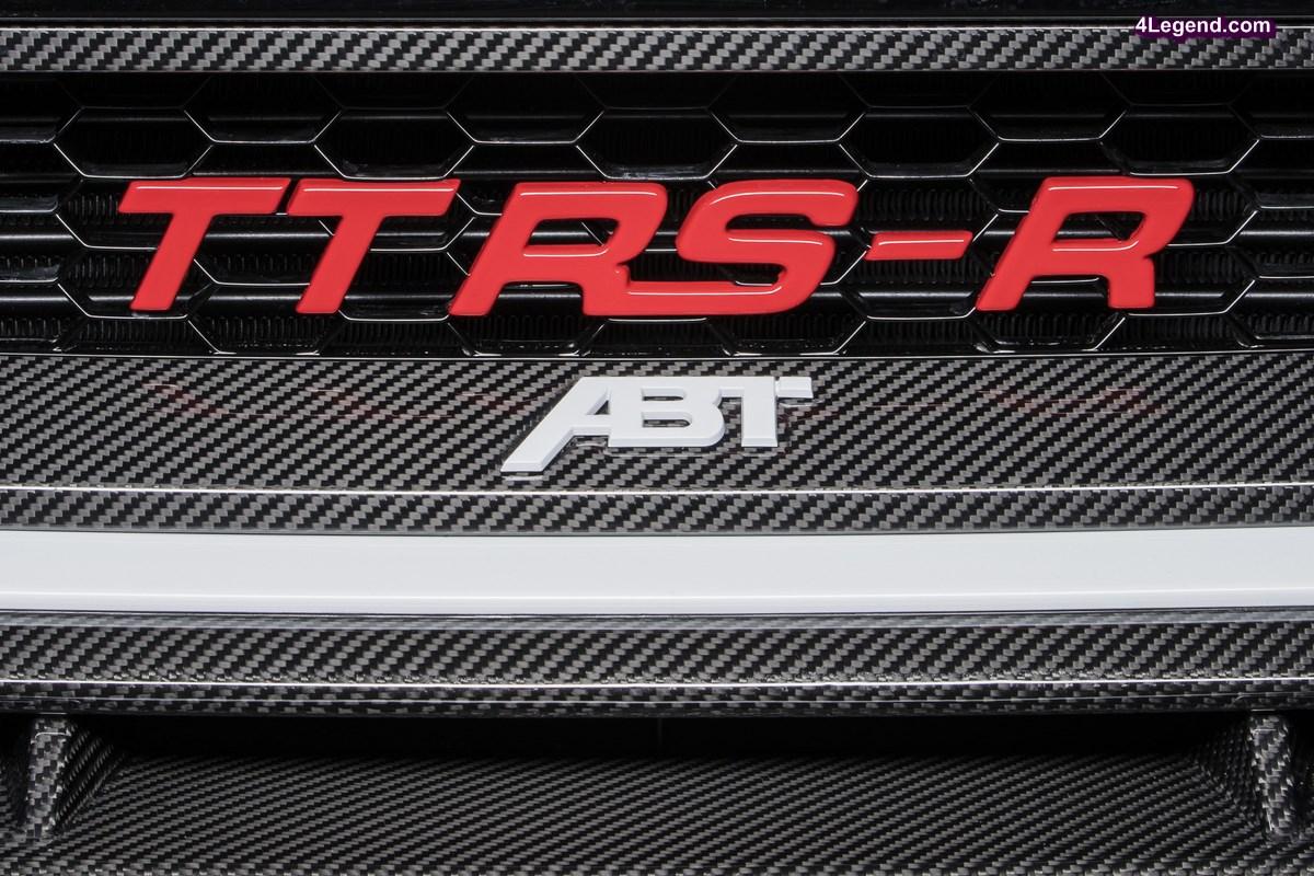 ABT TT RS-R - L'Audi TT RS revisitée par ABT Sportsline : 500 ch et 570 Nm