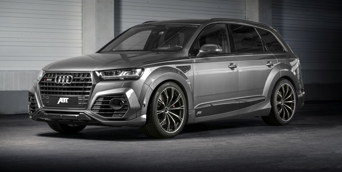 ABT SQ7 - Le SUV sportif d'Audi développant 520 ch