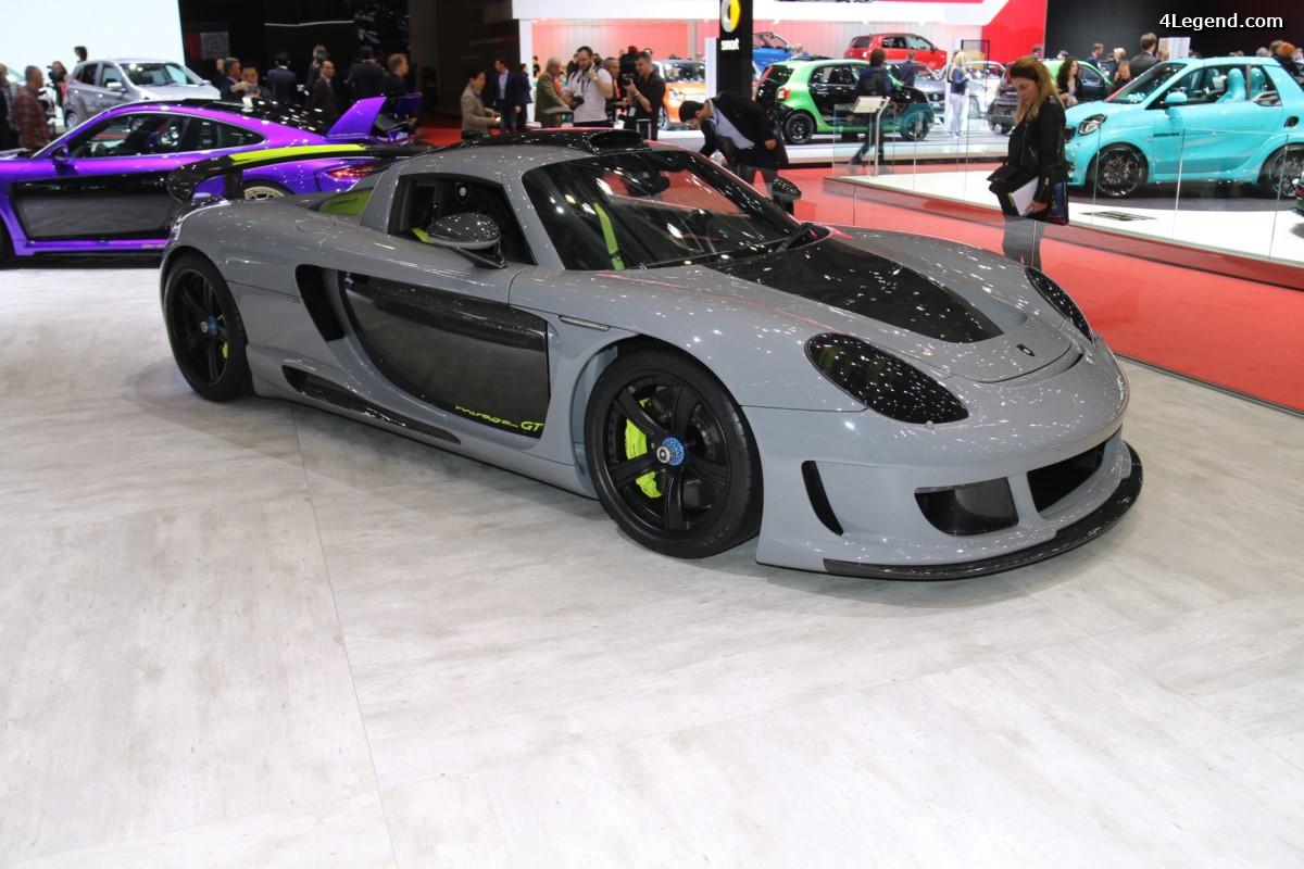 Genève 2017 - Gemballa Mirage GT Carbon Edition sur base de Porsche Carrera GT