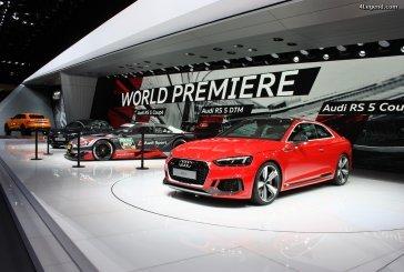 Genève 2017 - quand Audi Sport voit rouge.