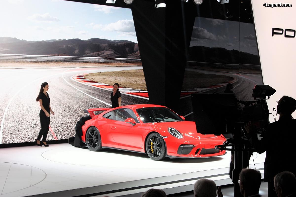 Genève 2017 - revivez la conférence de presse Porsche