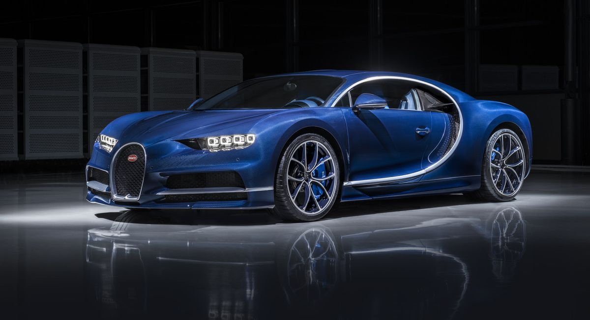 Bugatti présente sa 250ème Chiron au salon de Genève 2017 - Un modèle unique