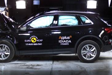 5 étoiles pour la nouvelle Audi Q5 à l'Euro NCAP