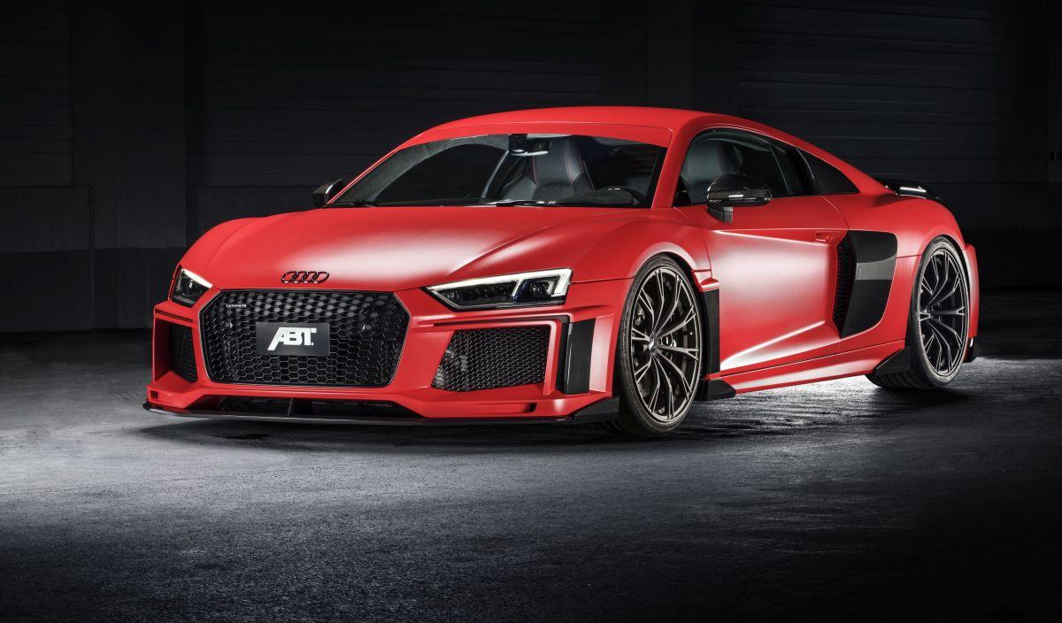 ABT R8 - Une Audi R8 V10 plus bodybuildée de 630 ch