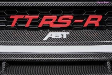 ABT TT RS-R – L'Audi TT RS revisitée par ABT Sportsline : 500 ch et 570 Nm