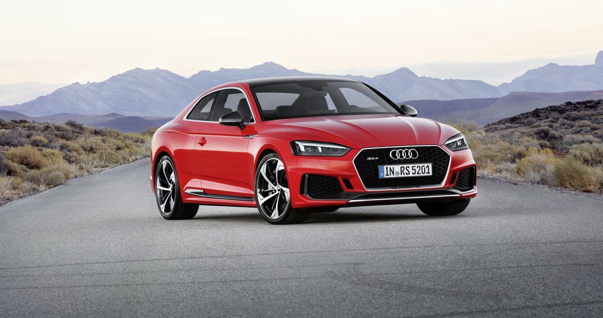 Nouvelle Audi RS 5 Coupé - Nouveau moteur V6 biturbo de 450 ch