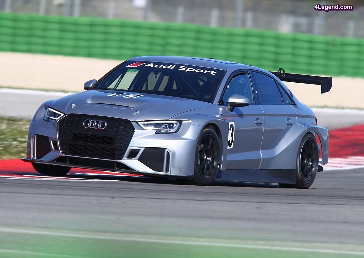 TCR - Une grande demande internationale pour l'Audi RS 3 LMS