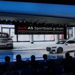 Genève 2017 – Nouvelle Audi A5 Sportback g-tron : écologique et sportive