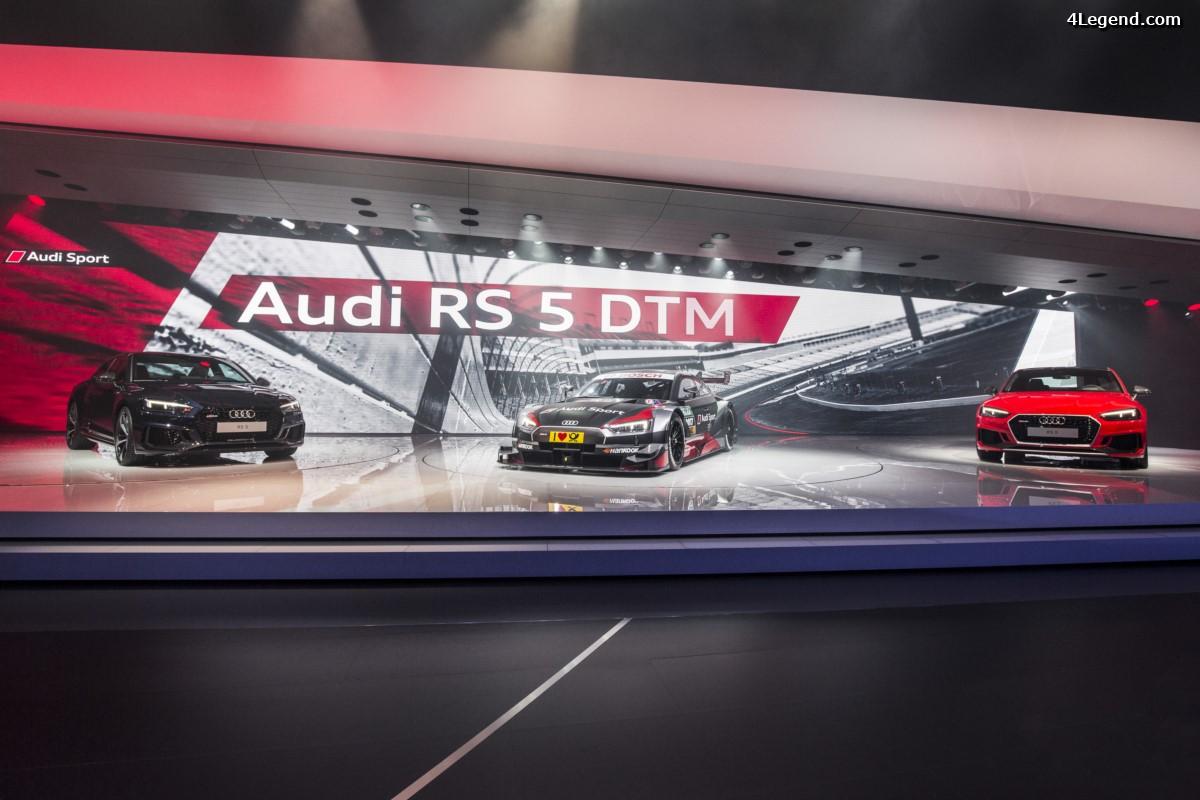 Genève 2017 - Détails de la nouvelle Audi RS 5 Coupé - Retour au V6 bi-turbo et manque de caractère