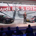 Genève 2017 – Première mondiale de la nouvelle Audi RS 5 DTM