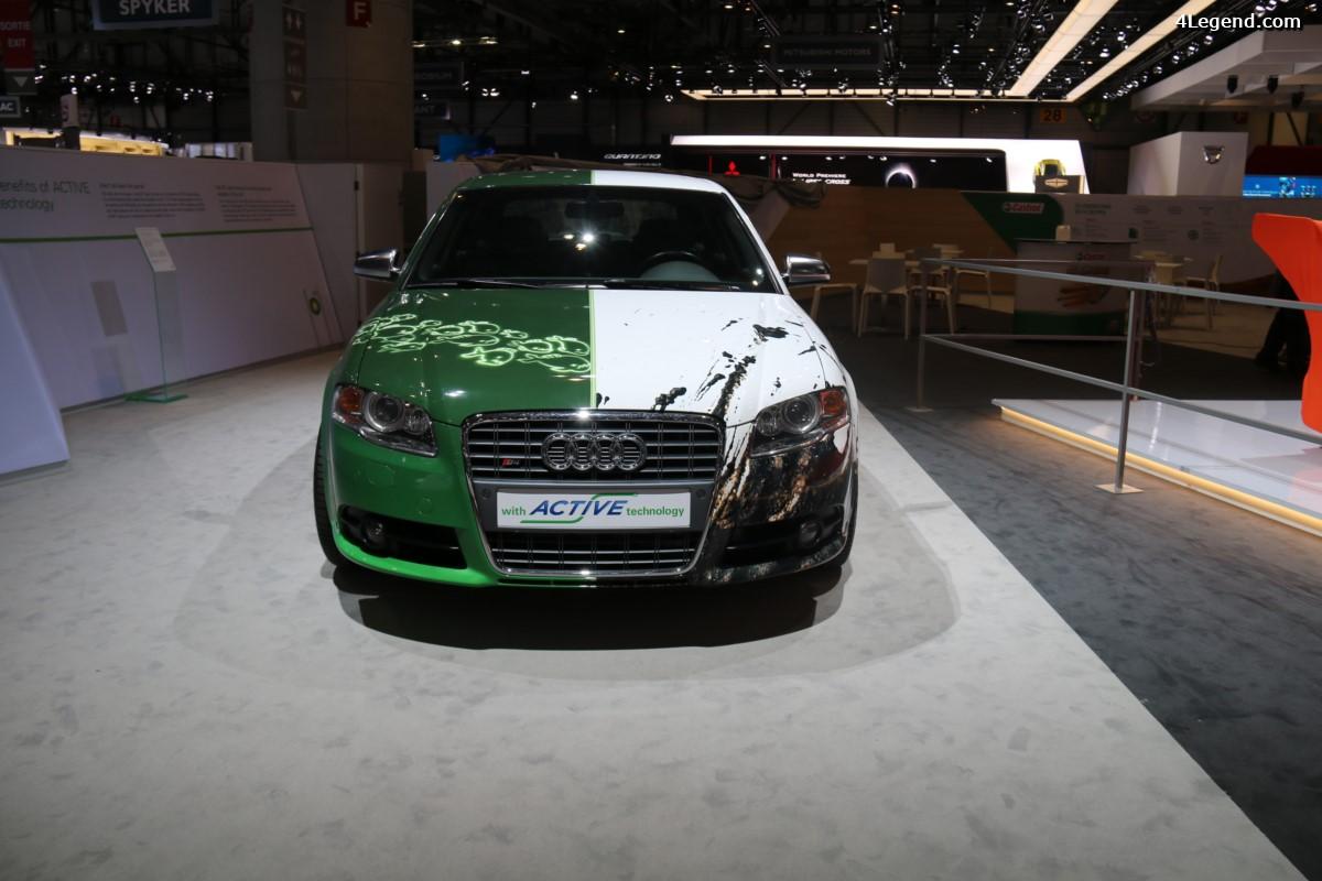 Genève 2017 - Une Audi S4 B7 ABT en tant que voiture test pour le carburant BP ACTIVE