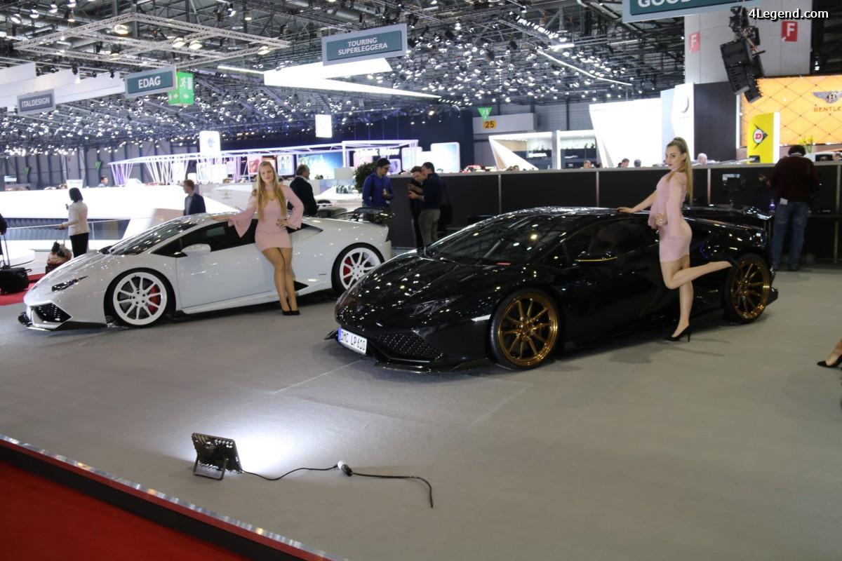Genève 2017 - DMC Huracan QV5000 Edition - Une Lamborghini Huracan de 1088 ch