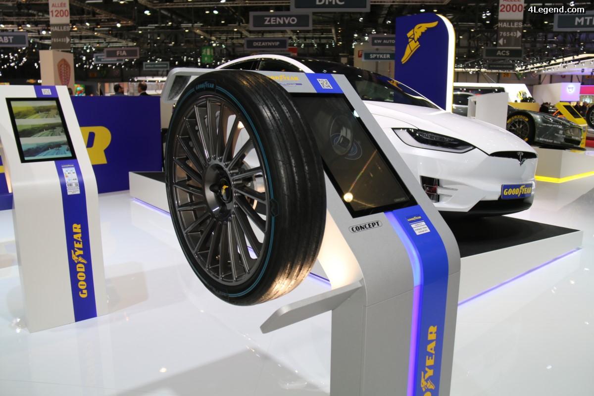 Genève 2017 - Pneu Goodyear IntelliGrip Urban : un pneu intelligent pour les flottes urbaines du futur