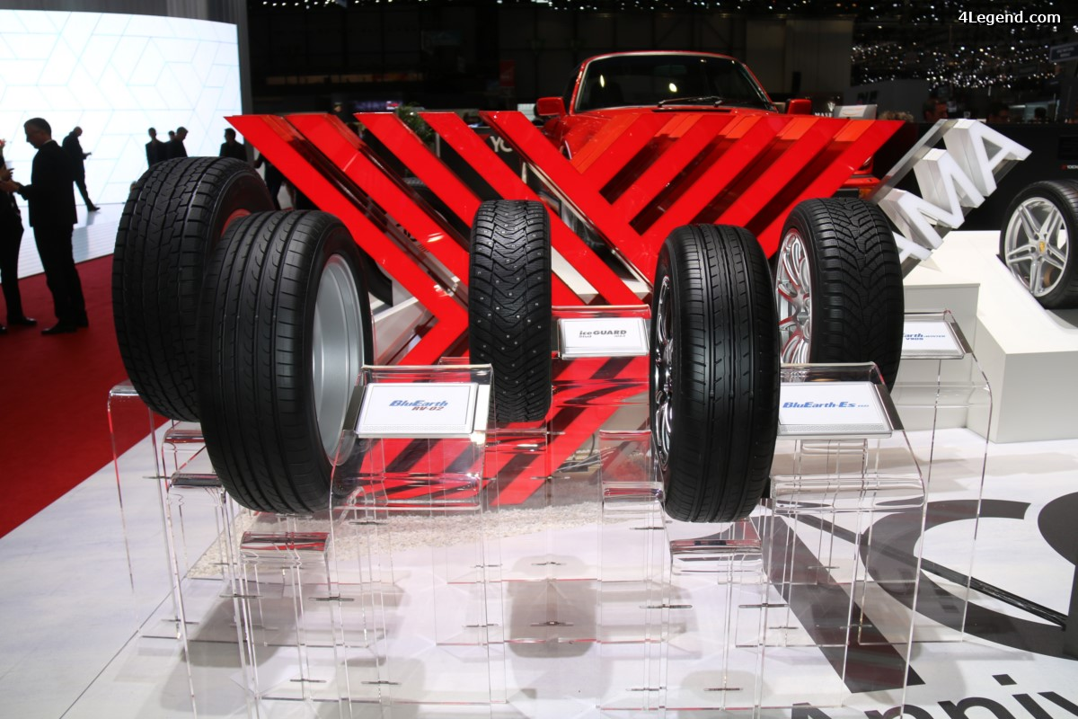 Genève 2017 - Nouveau pneu Yokohama BluEarth-Es ES32, économe en carburant et doté de technologies japonaises