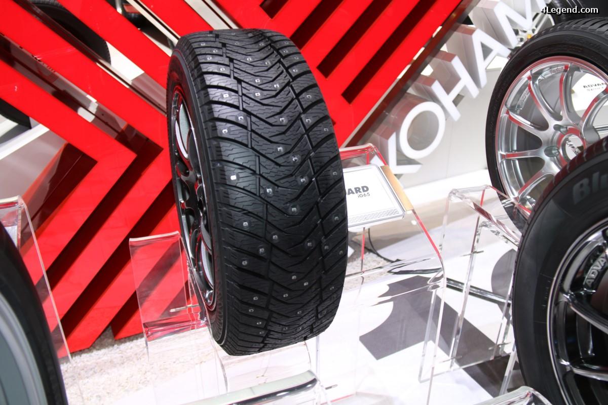 Genève 2017 - Nouveau pneu hiver à clous Yokohama iceGUARD iG65