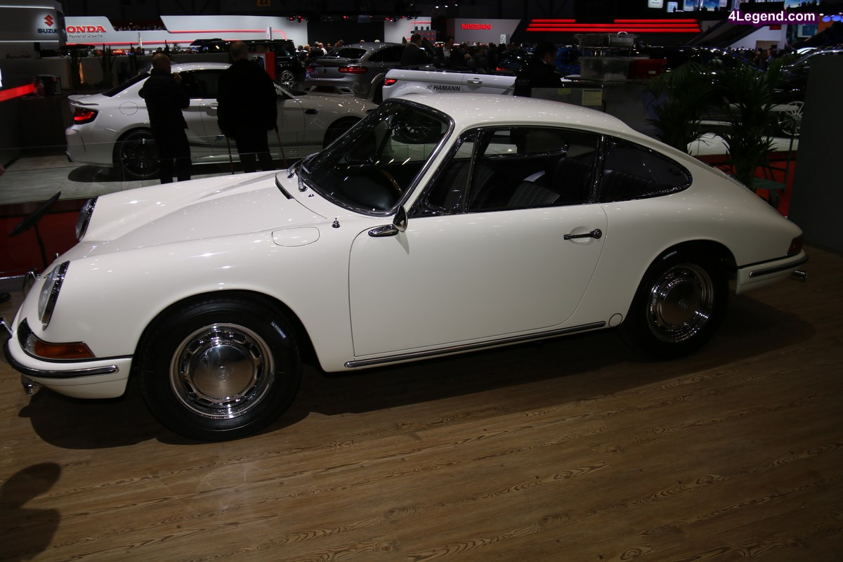 Genève 2017 - Porsche 901 de 1964 restaurée par RUF