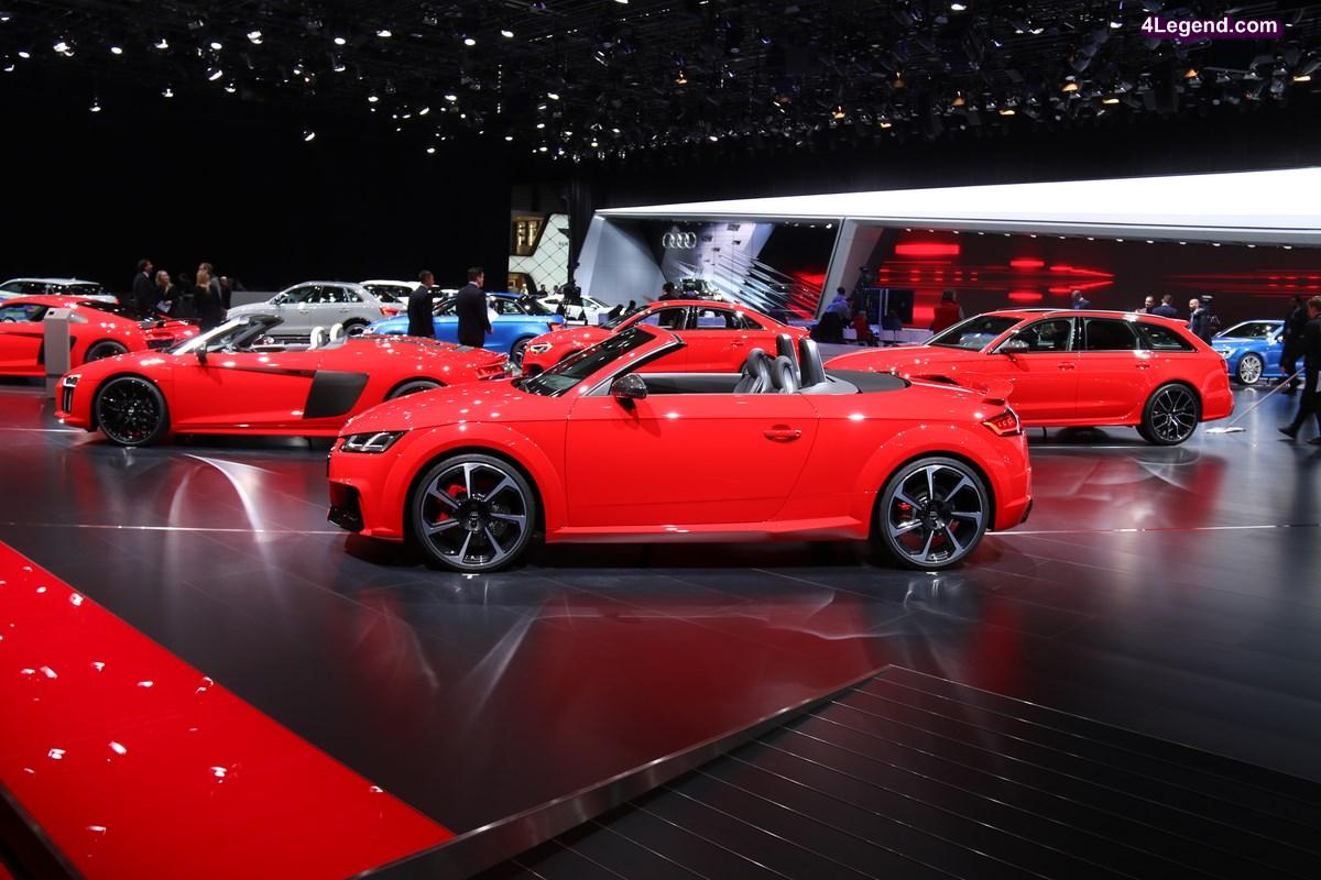 Preview Genève 2017 - Stand Audi et Conférence de presse Audi en Live le 07/03/17 à 8h35
