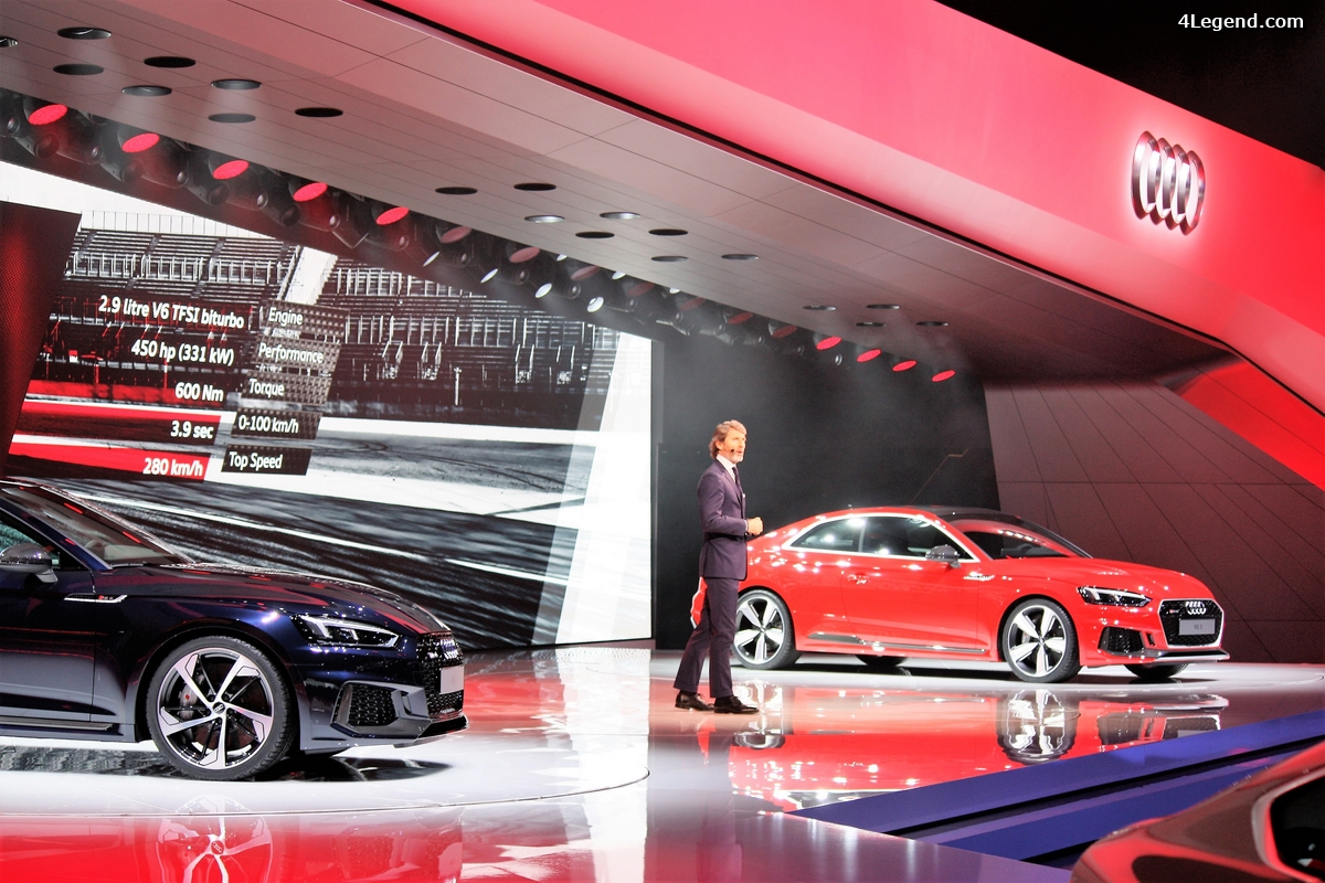 Genève 2017 - revivez la conférence de presse Audi.