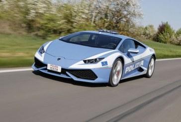Livraison d'une nouvelle Lamborghini Huracán Polizia à la police italienne