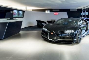 Bugatti ouvre un showroom au nouveau design à Genève