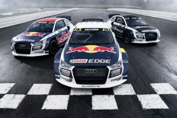 World RX – Présentation de nouvelles décorations des Audi S1 EKS RX quattro 2017