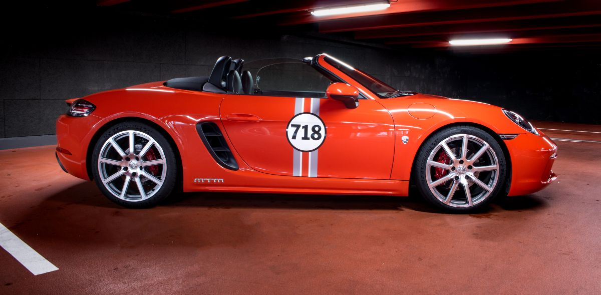 Porsche 718 Boxster S by MTM - Une préparation délivrant 402 ch