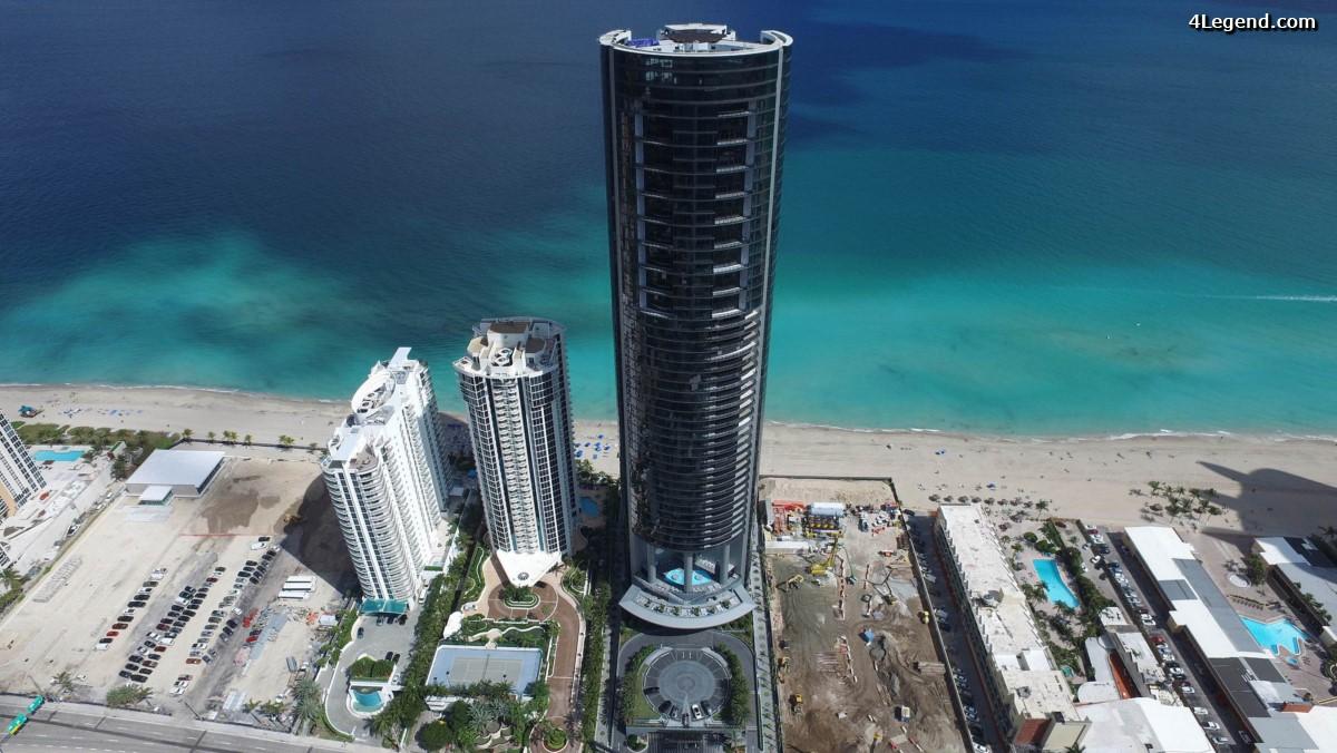 Porsche Design Tower Miami - Le premier projet immobilier résidentiel de Porsche Design à Miami