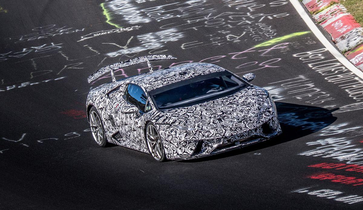 La nouvelle Lamborghini Huracán Performante bat un nouveau record au Nürburgring : 6:52.01 minutes