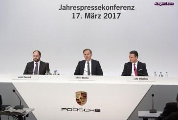 Nouveau record de ventes pour Porsche en 2016 et orientation dans le numérique
