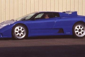 Rinspeed Bugatti Cyan de 1994 – Une Bugatti EB 110 GT personnalisée par Rinspeed