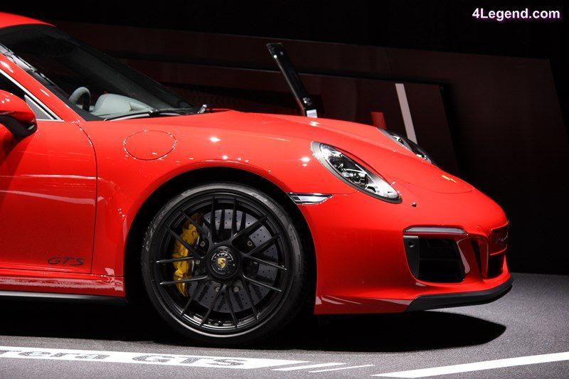 Preview Genève 2017 - Stand Porsche - Conférence de presse ...