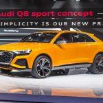Genève 2017 – Audi Q8 sport concept : Un SUV sportif et luxueux