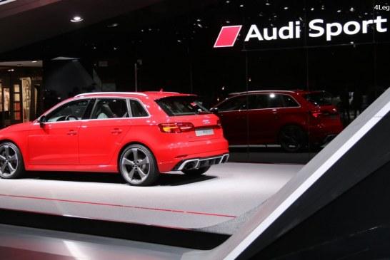 Genève 2017 – Nouvelle Audi RS 3 Sportback de 400 ch