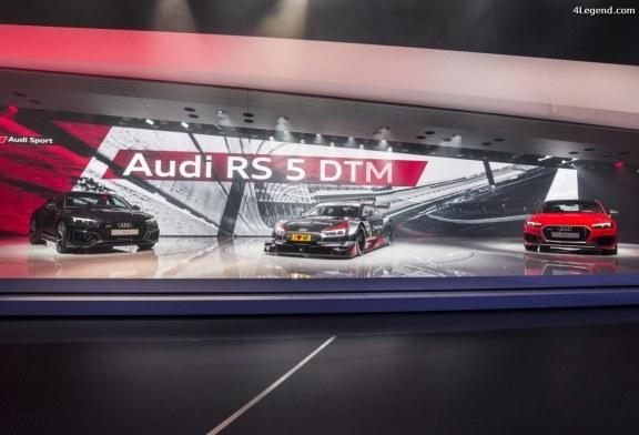 Genève 2017 – Détails de la nouvelle Audi RS 5 Coupé – Retour au V6 bi-turbo et manque de caractère