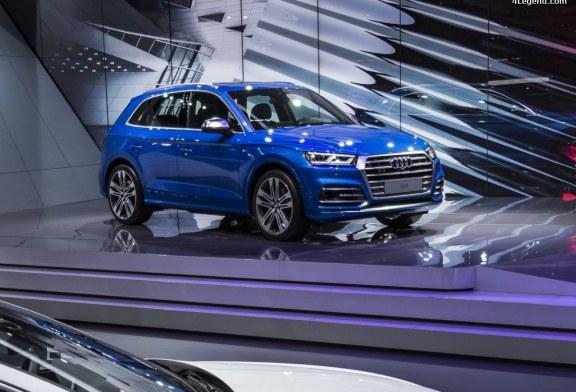 Genève 2017 – Audi SQ5 3.0 V6 TFSI : Du plastique au prix de l'or