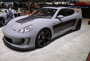 Genève 2017 – Série limitée Gemballa Mistrale sur base de Porsche Panamera Turbo
