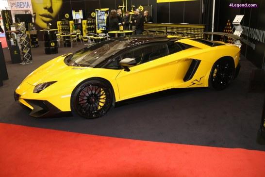 Genève 2017 – Lamborghini Aventador SV Roadster LP 750-4 de 2016