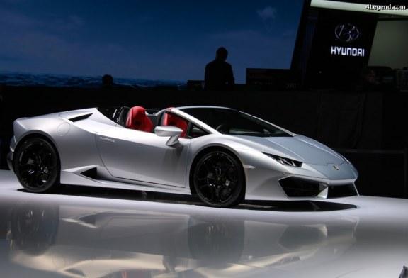 Genève 2017 – Lamborghini Huracán RWD Spyder