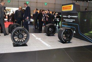 Genève 2017 – Pirelli Connesso : le pneu devient intelligent et interactif