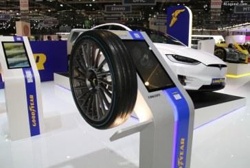 Genève 2017 – Pneu Goodyear IntelliGrip Urban : un pneu intelligent pour les flottes urbaines du futur