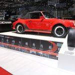 Genève 2017 – Refabrication du pneu Yokohama A008P ayant équipé en première monte les Porsche 911