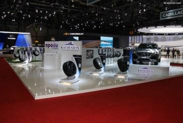 Genève 2017 – Apollo Vredestein présente ses pneus haut de gamme et de haute performance