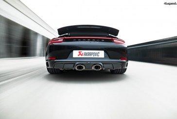 Nouveaux échappements Akrapovič pour les Porsche 911