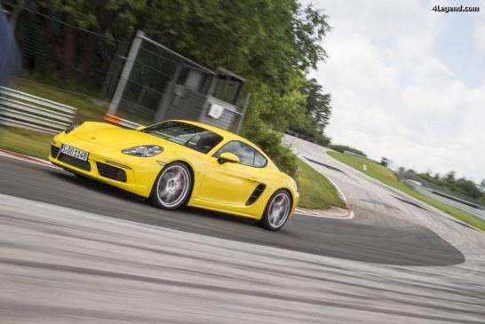 Homologation en première monte des pneus Yokohama ADVAN Sport V105 pour les Porsche 911, 718 Boxster et 718 Cayman
