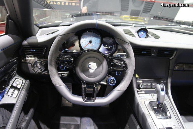 gen ve 2017 techart gtstreet r cabriolet coup sur base de porsche 911 turbo. Black Bedroom Furniture Sets. Home Design Ideas