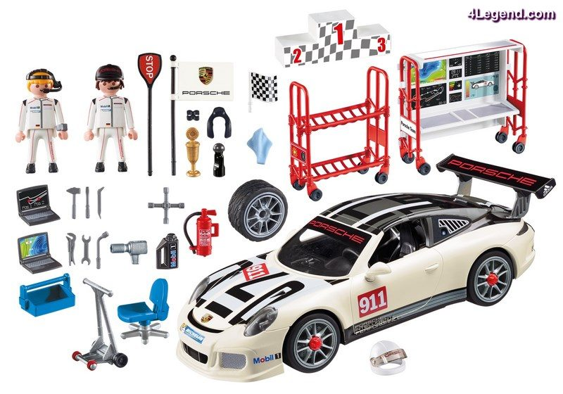 porsche 911 gt3 cup de playmobil 9225 une troisi me. Black Bedroom Furniture Sets. Home Design Ideas