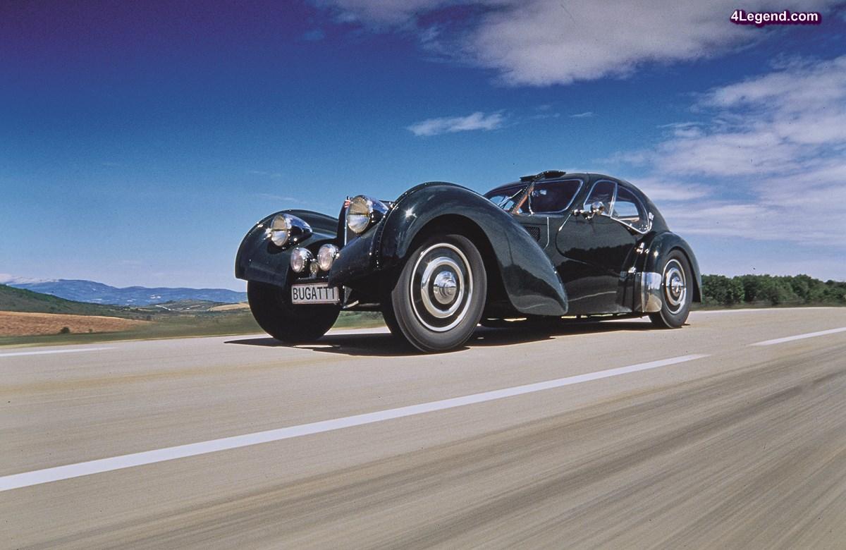 Bugatti Type 57 SC Atlantic - 4 modèles produits il y a 80 ans