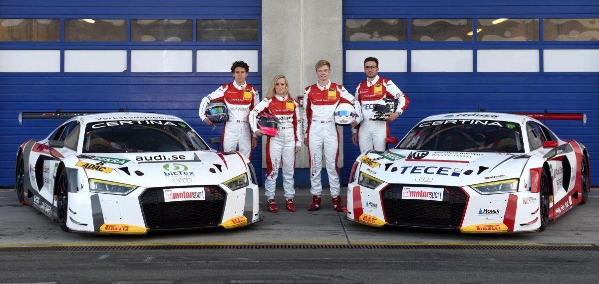 Audi Sport racing academy - Promouvoir les nouveaux talents