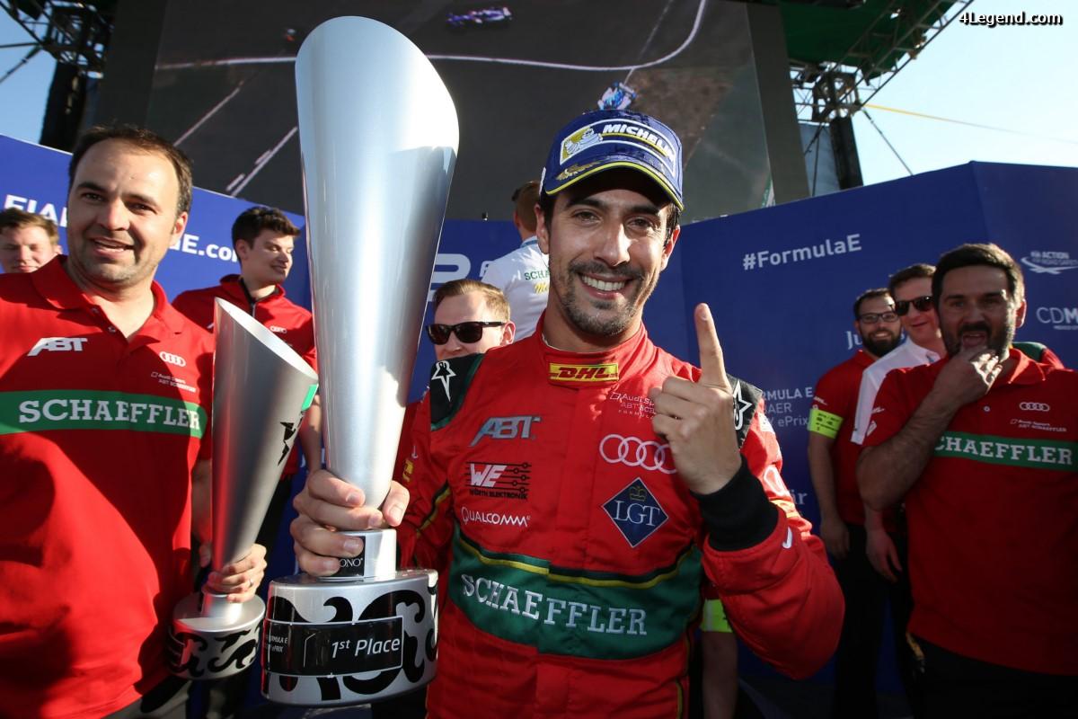 Formula E - Une victoire spectaculaire pour le pilote Audi Lucas di Grassi à Mexico