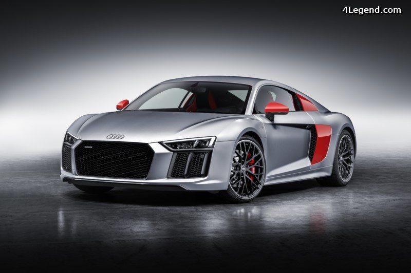 Audi R8 Coupe Edition Audi Sport Une Serie Limitee A 200